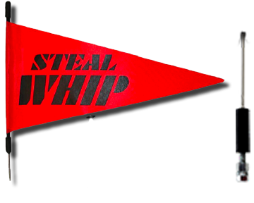 Steal Whip (7' long)