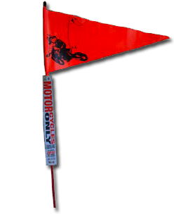 Motorcycle Only Flag